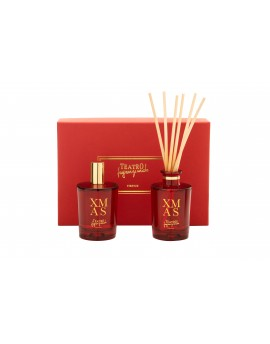 XMAS - Mini Gift Box - (Spray ml. 100 e Sticks ml. 100)
